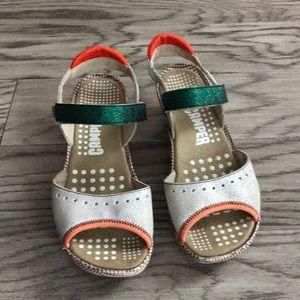 Camper sandals size 7.5 W